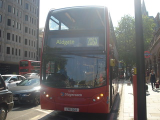 Stagecoach 12148 on Route 205X, St Pancras