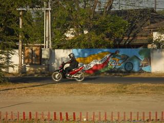 tour de Timor mural