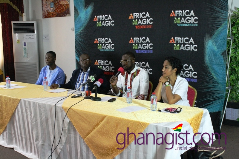 Elikem's Press Conference in Accra