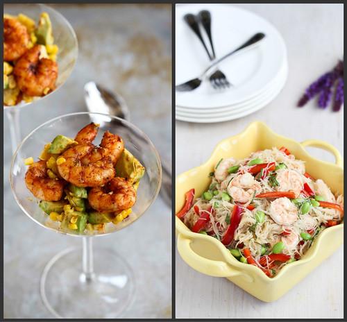 New Recipes: Grilled Crostini, Shrimp Cocktail & Rice Noodle Salad   cookincanuck.com