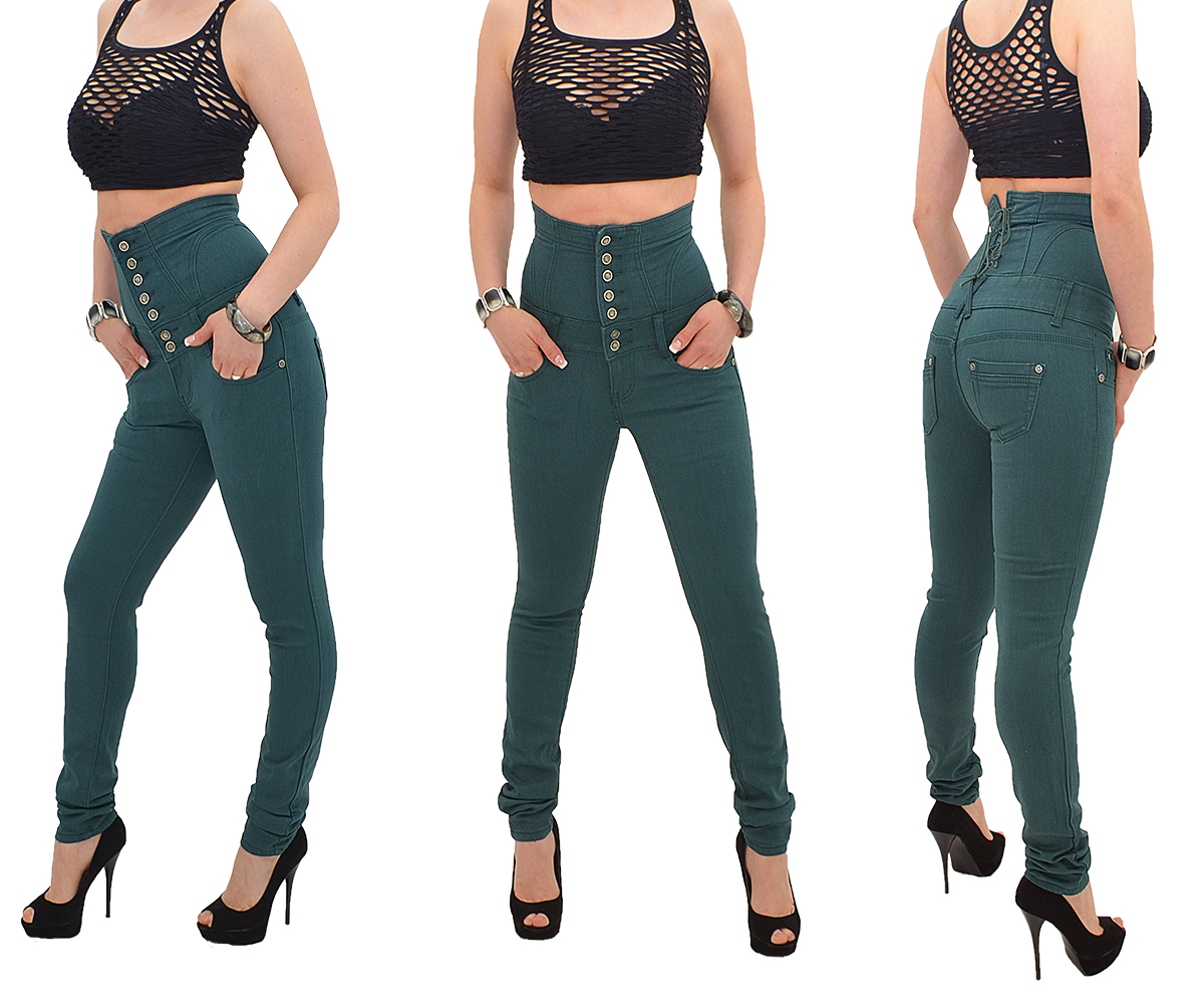jeans pour femmes skinny pantalon tubes coupe haute taille. Black Bedroom Furniture Sets. Home Design Ideas