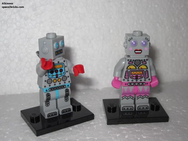 Minfig série 11 robot fille p3
