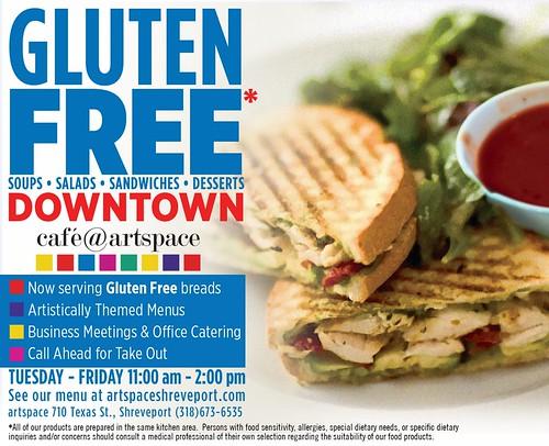 Cafe@Artspace: gluten free by trudeau