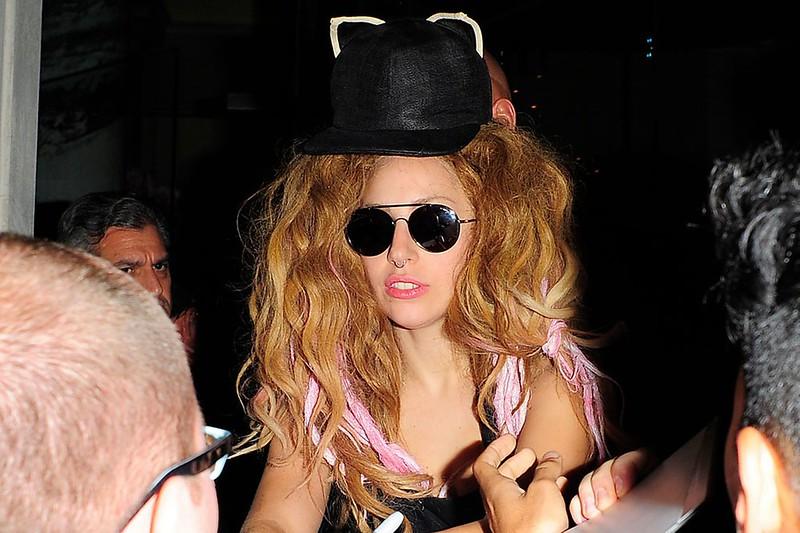 Lady Gaga wears Mich Dulce
