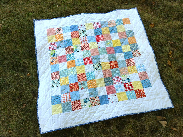 Baby Pushrock Quilt