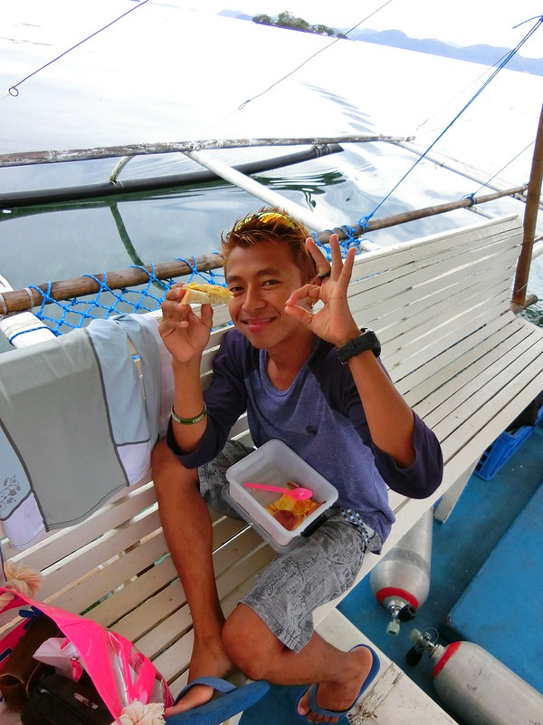 my Dive instructor at Coron islands palawan philippines