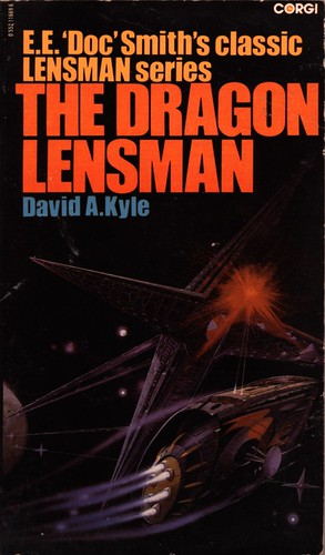 The Dragon Lensman by David A. Kyle. Corgi 1981