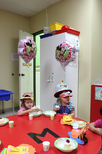 Annabelle's bday at school