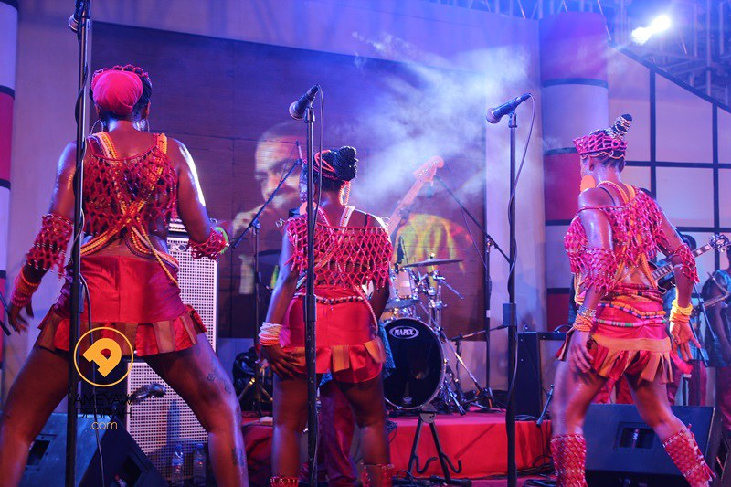 femi kuti live in ghana