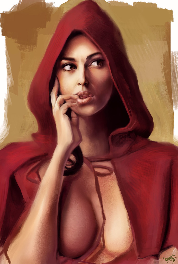 Join told monica bellucci red riding hood are mistaken