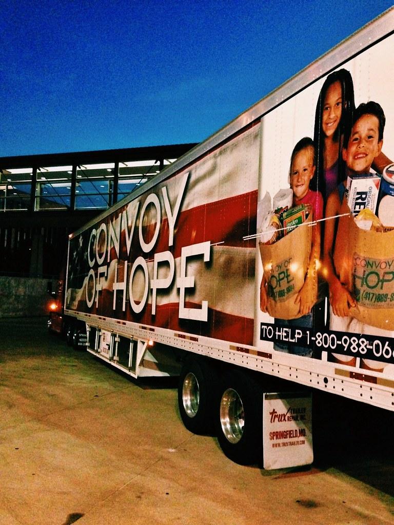 Convoy of Hope Truck Convoy of Hope Truck •