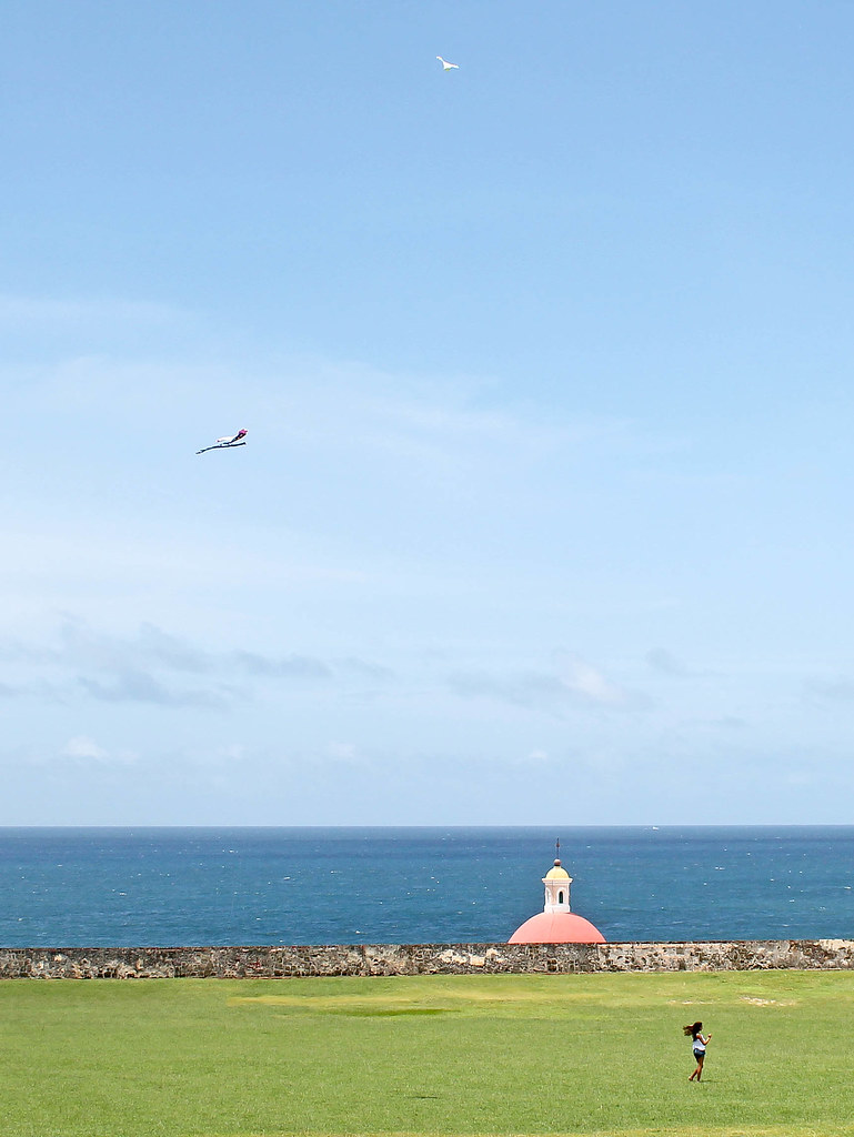Kite Flying at El Morro