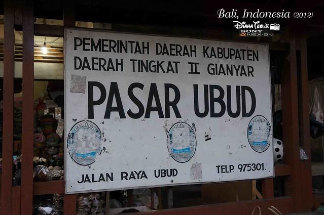 Bali Day 2 Ubud Market 01