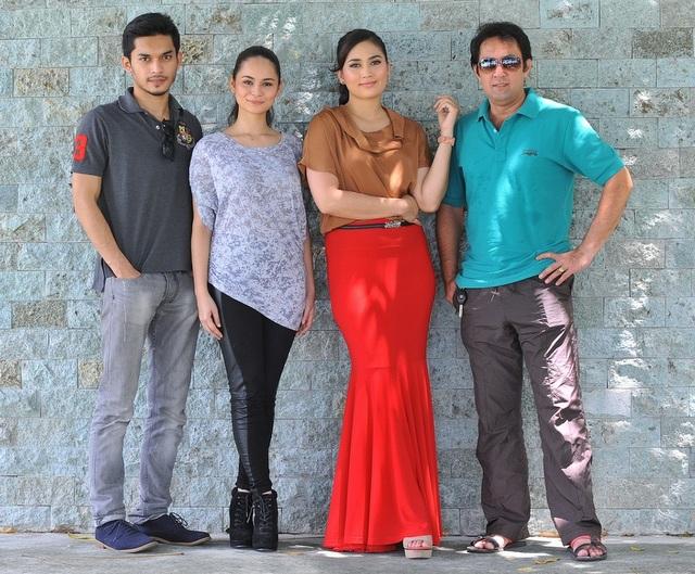 Aeril Zafrel, Izara Aishah, Fasha Sandha dan Roy Azman