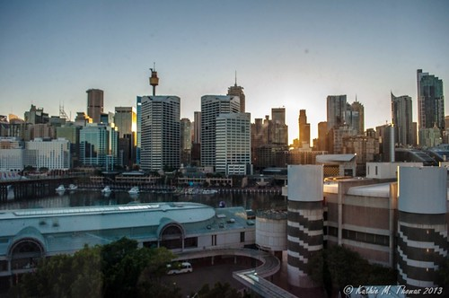 Sunrise at Darling Harbour