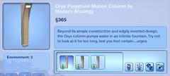 Oryx Perpetual Motion Column by Modern Arcology