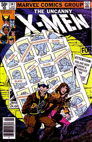 XMen-v1-141-Days-of-the-future-past-1980-cover