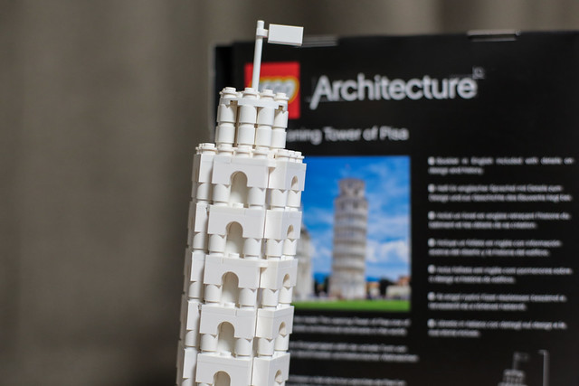 The Leaning Tower of Pisa LEGO