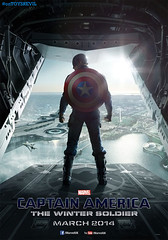 美國隊長2 : 酷寒戰士 (Captain America: The Winter Soldier)  poster