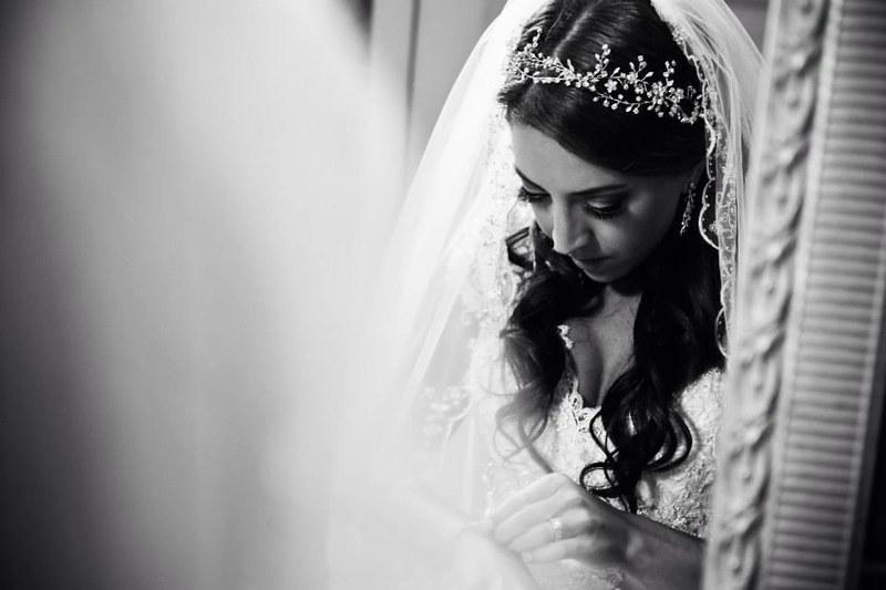 crystal flower vine bridal headband