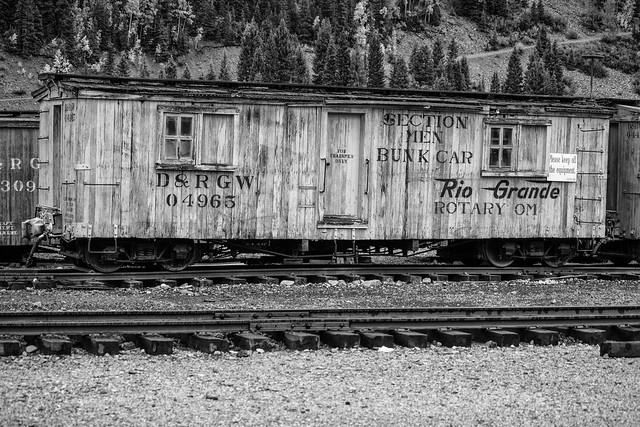 Abandoned Train Cars - Silverton, Colorado
