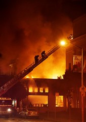 Fire in Internet Archive scanning center
