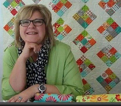 Interview With :    Pat Sloan, Fabric Designer, Author and Lecturer