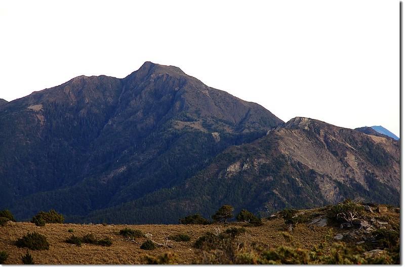 馬利加南山(From 馬西山西北眺)