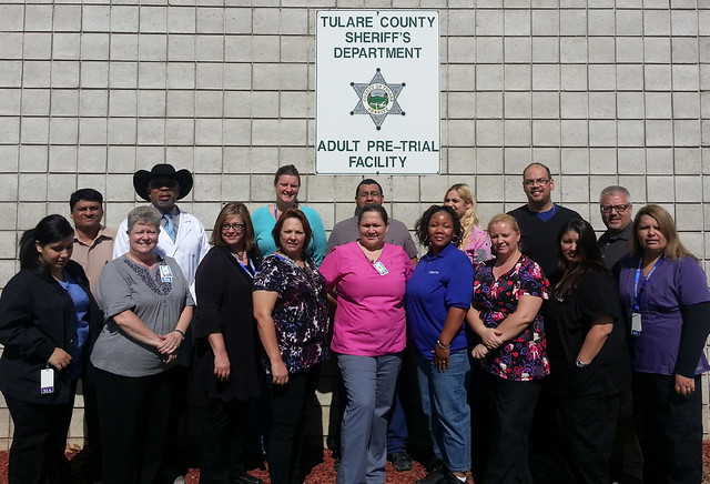 Tulare County Jail - California dreaming for Corizon