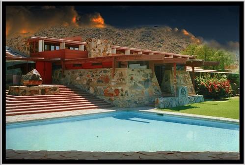 Arizona ~ Scottsdale ~ Taliesin West ~ Frank Llyod Wright  School ~ Attraction Site