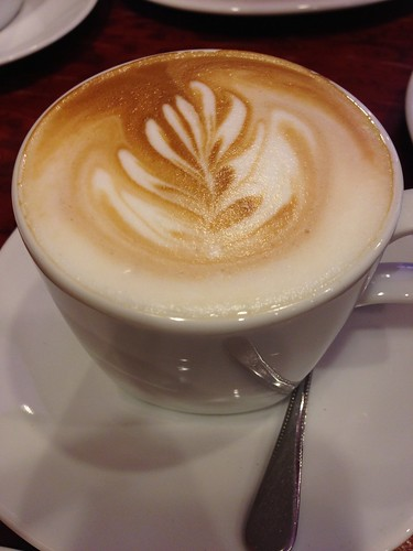 Latte at Coffee Mania, Patong, Phuket