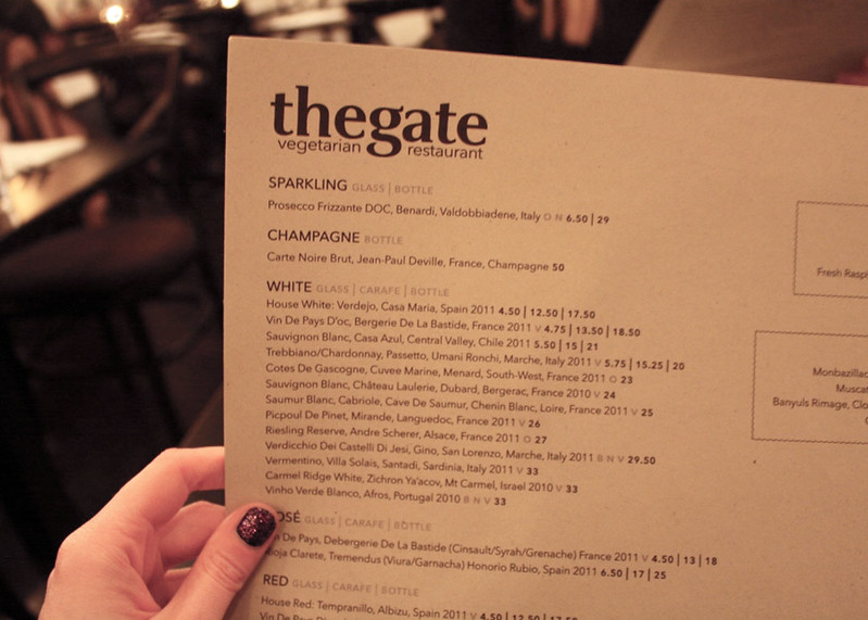 Top UK LIfestyle Blogs, The Gate Hammersmith Review