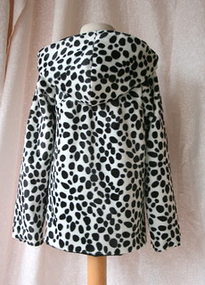 Dalmation Jacket Back