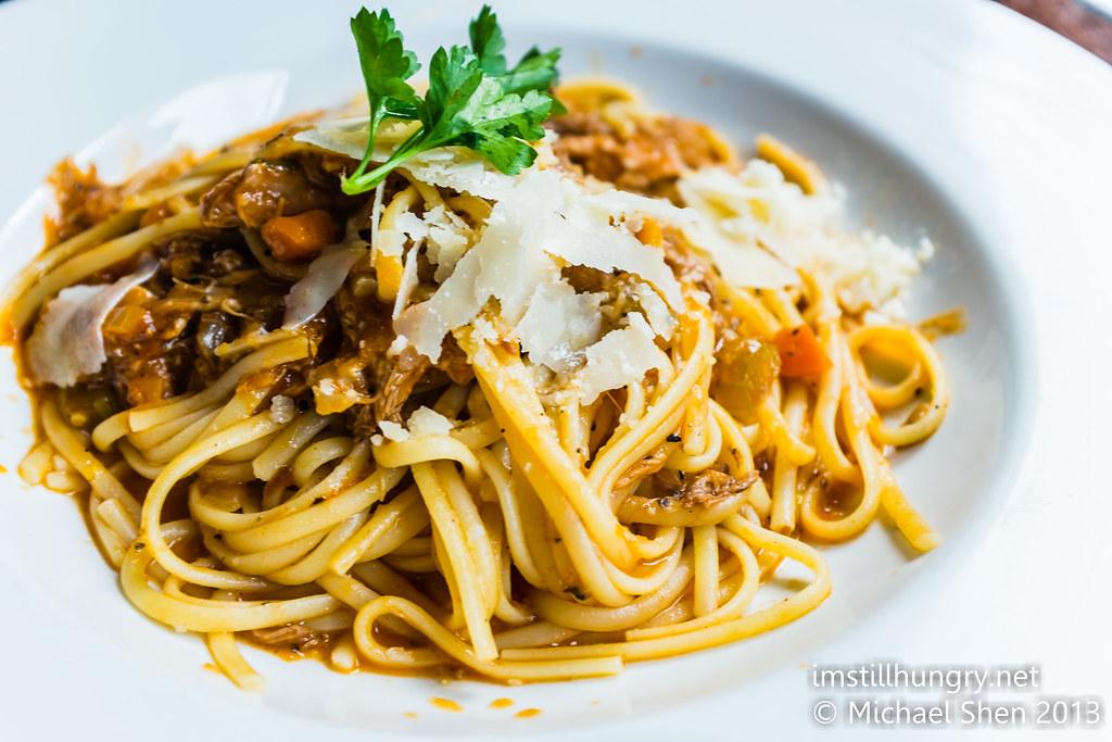 Tiamo Melbourne spaghetti