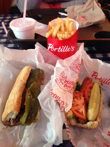 Black Friday Lunch at Portillo's
