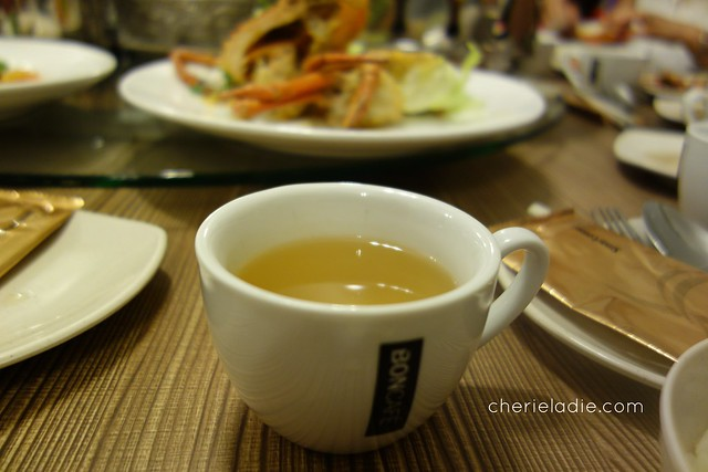 Gu Ma Jia serves healthy Roasted Buckwheat Green Tea