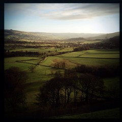 The Hope Valley, Derbyshire.