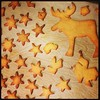 The #moose is still alive, but #stars and #snowflakes are almost gone ;) we need to bake more! #cookieshapes #bakingfun #weihnachtsplatzchen #advent #christmascookies