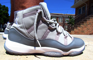 """Cool Grey"" Air Jordan 11 Retro"