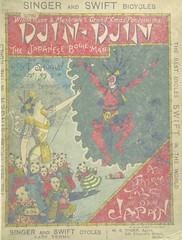 """British Library digitised image from page 5 of """"Djin-Djin, the Japanese Bogie Man, etc. (Christmas pantomime.)"""""""