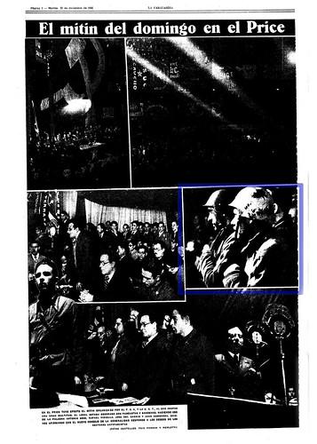 Mitin del PSU y de la UGT en el price, domingo 20 de diciembre de 1936. by Octavi Centelles