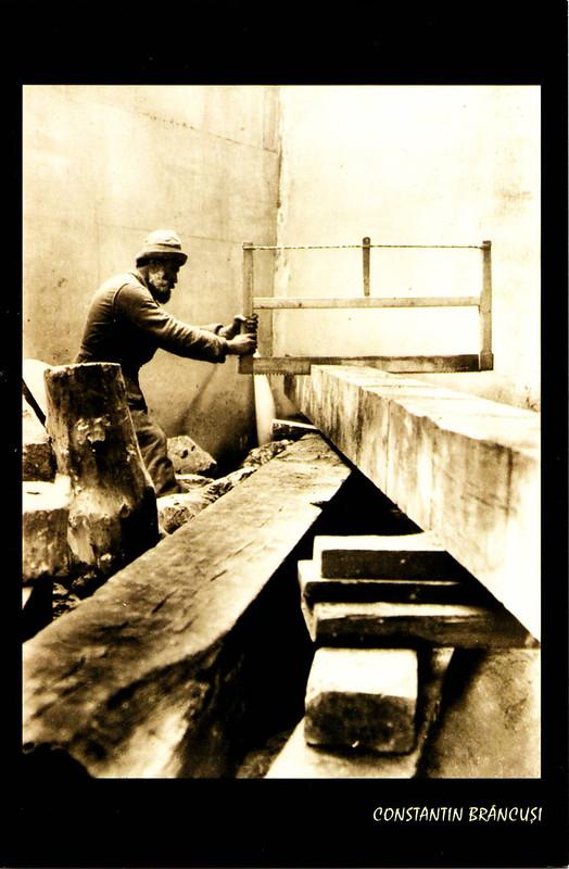 Artist-Brancusi 1924