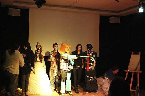 Die Kostümbau-Gruppe: Danke!