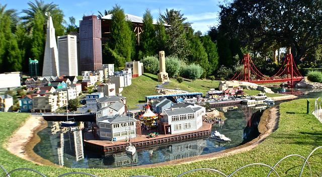 Legoland, Florida - Miniland - San Francisco golden gate bridge