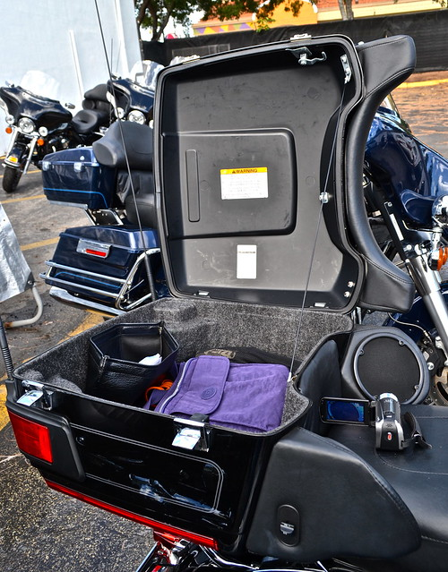 Harley Davidson luggage space