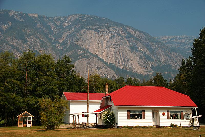 Hagensborg, Bella Coola Valley, Coast of Central British Columbia, Canada