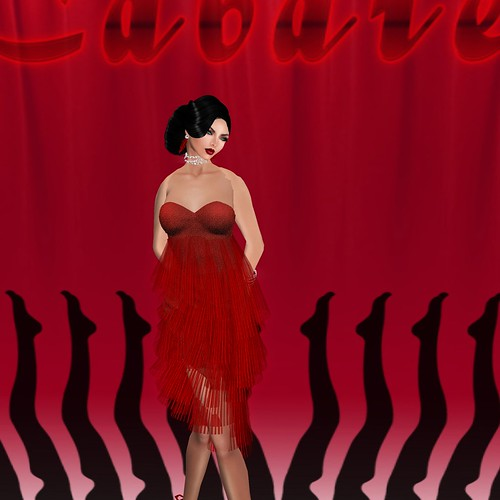 AsHmOoT_AW Coll_Alyssa_Hot Dress_Hot Red 1 by Orelana resident