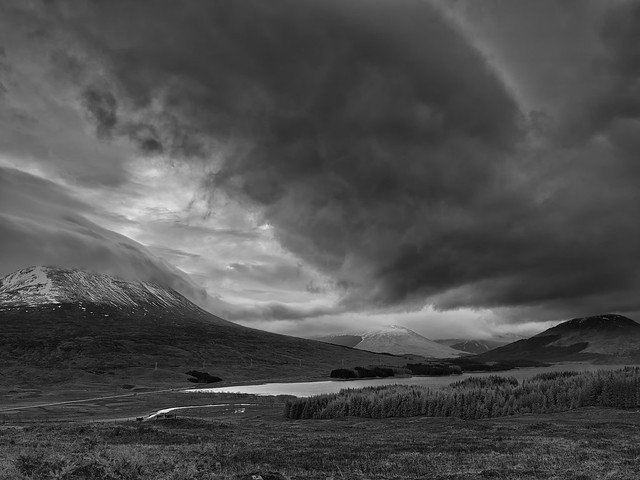 A Storm Brewing Over Beinn an Dòthaidh - Explored 21/01/14