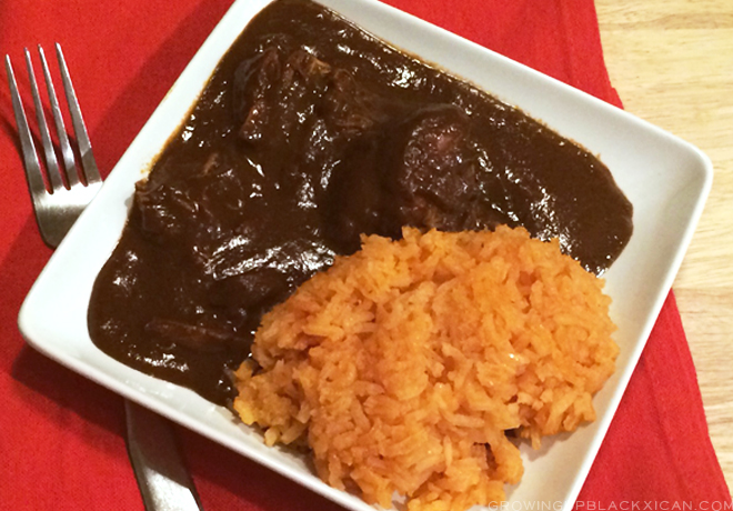 easy slow cooker chicken mole_ serve and enjoy