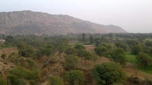 View From the top Of Achrol Bagh